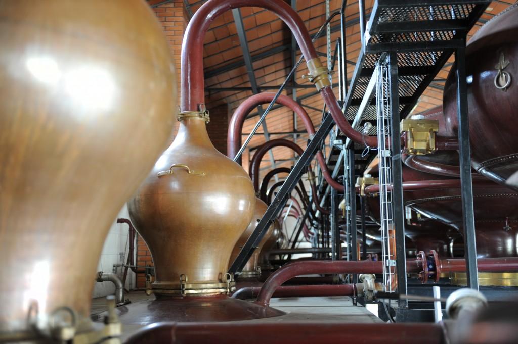Destillerade droppar